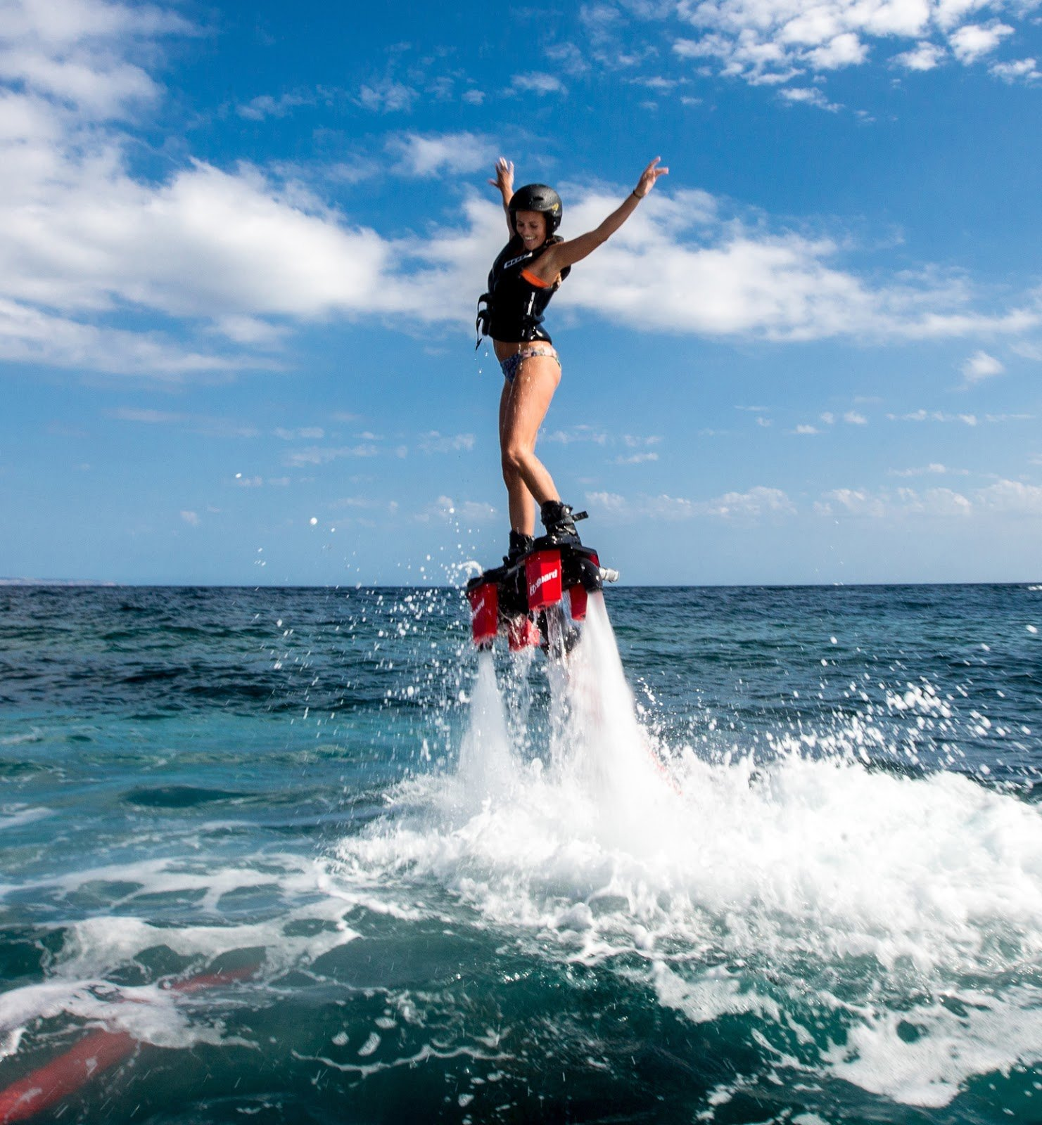 exciting flyboard